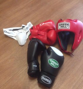 Снаряжение для занятий боксом