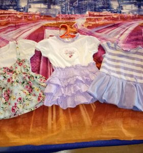 Три платья на девочку