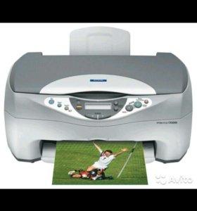 Мфу Epson Stylus CX3200, сканер