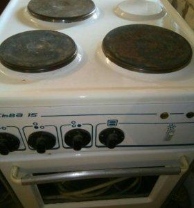 Продам электро-плиту с духовкой