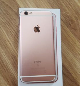 IPhone 6s, 16g, rose gold, возможен обмен