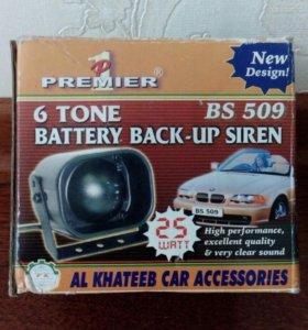 Сирена автомобильная фирмы Premier 1 новая