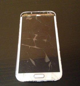 Samsung galaxy note 2(на запчасти)