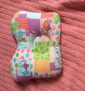 подушка для грудничков, ортопедическая