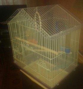 Клетка птичья