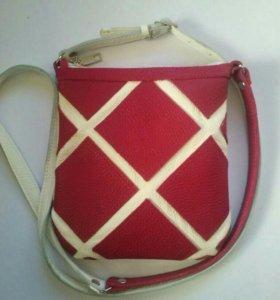 сумочка из натуральной кожи
