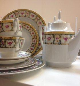 Чайно- столовый набор на 2 пер.Thun Чехия