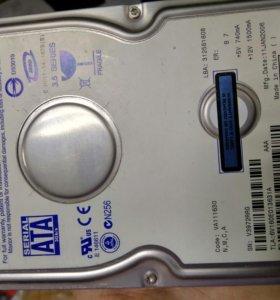 Продам жесткий диск 160 Gb