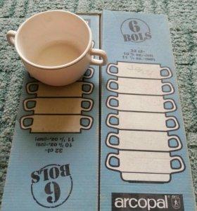 Набор чашек супниц Arcopal 6шт