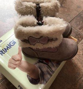 Зимние ботинки Primigi на девочку