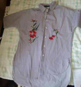 Рубашка с вышовкой