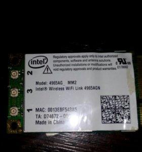 Модуль Intel Wireless WiFi link 4965AGN, 300mbps