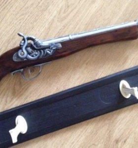 Зажигалка мушкетон тромблон сувенир подарок
