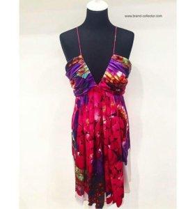 Платье Roberto Cavalli S,шелк новое
