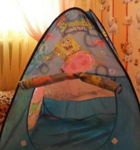"""Палатка """"Спанч боб"""""""
