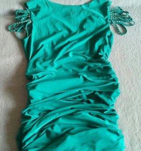 платье эффектное.