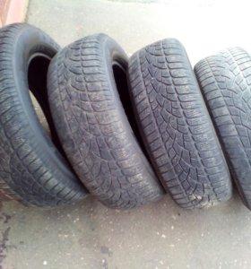 Шины Dunlop winter sport  235*65*17 цена за 4 шт.