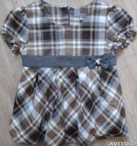 Блуза рубашка на девочку 10лет примерно в о/с