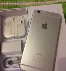 iPhone 6 на 16gb silver
