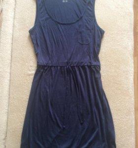 Платье трикотажное новое 46 размер