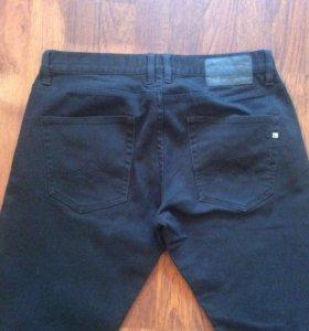 Джинсы мужские черные Quicksilver, размер 30