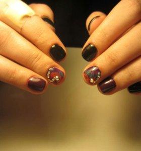 Shellac/маникюр/наращивание ногтей