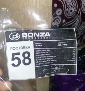 Сноуборд bonza