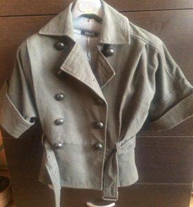 Пальто драповое,р44
