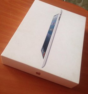 Коробка iPad Wi-fi Cellular 64 GB White