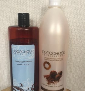 Кератин cocochoco и очищающий шампунь