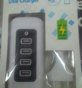 USB зарядка-переходник