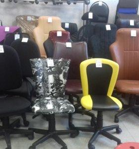 Компьютерные стулья, кресла. Новые