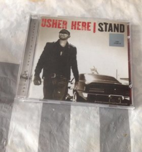 CD диск usher here I stand
