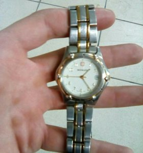 WENGER.WATER RESISTANT. 100M SMISS MADE 095 0695.