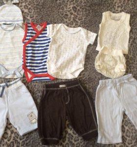 Вещи на мальчика 0-3 месяцев