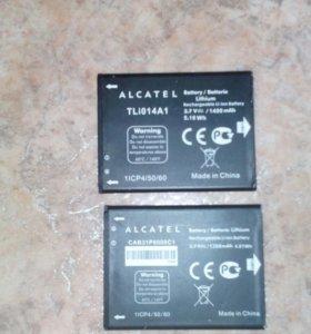 Акб на Alcatel One Touch