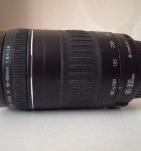 Объектив Canon ef 90-300 f/4.5-5.6 USM