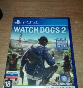 "Игра ""Watch Dogs 2"" для PS4."
