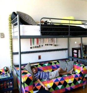 Кровать чердак в идеальном состоянии срочно .торг
