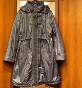 Пальто новое на тонком синтепоне 54-56 размер