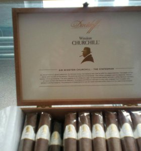 Сигары компании Dawidoff Winston CHURCHILL 20.