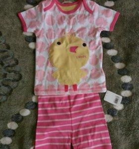 Пижама новая mothercare