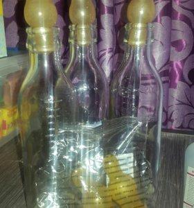 Бутылочки стекл. для кормления и соски молочные