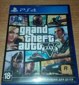 Grand Theft Auto 5 (GTA 5) для PS4.