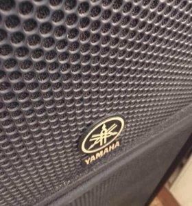 Колонки Yamaha C115v, усилитель Yamaha 1000Вт