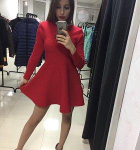 Платье-клеш