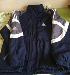 Тёплая куртка для дачи
