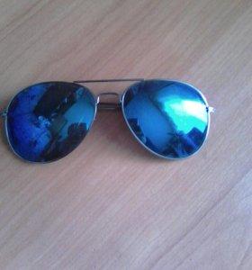 Очки синие линзы