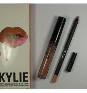 """Матовый блеск + карандаш """"Kylie"""" Candy K"""