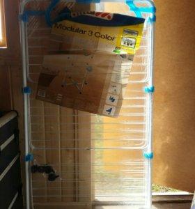 Сушилка для белья modular color 30м голубая
